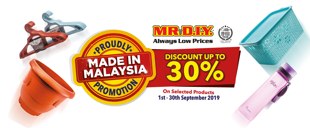 Proudly Made In Malaysia