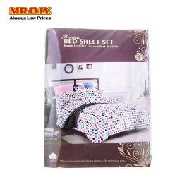 Premium King Bed Sheet Set 190 185 25