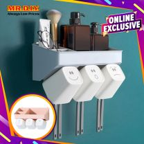 MR.DIY Wall-Mounted Toothbrush Holder PM-002