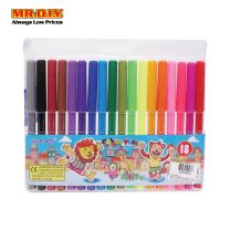 XUEBEI Fibre Tip Colour Pen 18 Colours