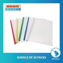 CHANYI Transparent Multicolour Stick File Series File Folder (5pcs)