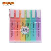 TENFON Light Colour Highlighter Pack H-2321 (6pcs)