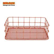 MR DIY Chromed Desk Storage Basket  MQ7042