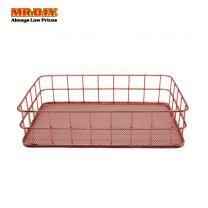 MR DIY Chromed Desk Storage Basket MQ7041