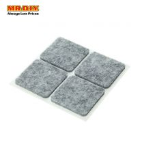 MANDYHOME Square Grey Guard Sticker 4*4CM (4pcs)