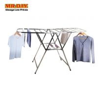 MR.DIY Premium Stainless Steel Foldable Clothes Drying Rack (159cm x 60cm)