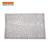 MR.DIY Rectangular Leaves Design Placemat 35649-1