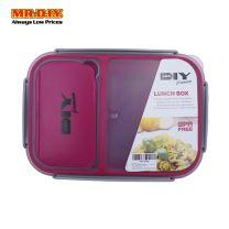 MR.DIY Premium Airtight Seperate Compartment Lunch Box Set (1600ml)