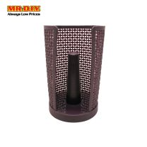 MR.DIY Rattan Design Plastic Paper Towel Holder
