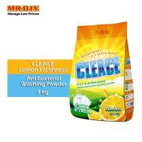 CLEACE Lemon Freshness Antibacterial Washing Powder (3kg)