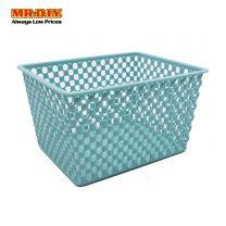 MR.DIY Rattan Plastic Organiser Small Basket ZW903