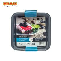 MR.DIY Premium Non-Stick Square Cake Mould Pan (23cm x 22cm)