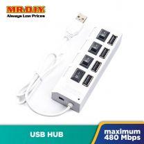 USB Hub 4-On/Off 2.0