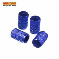 FARSIGHT Stainless Steel Car Tyre's Valves Air Caps (4pcs)
