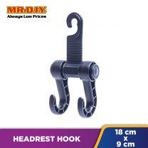 FLY Car Holder Headrest Luggage Double Hook (1pc)