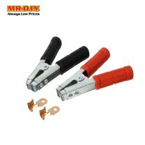 Car Battery Clamps with 2 cable splicing wire connectors (2pcs)