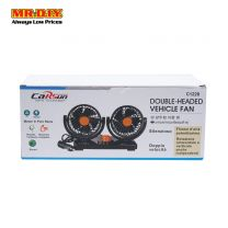 CARSUN Double Headed Vehicle Fan 12V