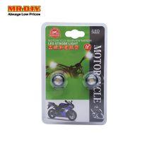 MR DIY Motorcycle Rearview Mirror LED Strobe Light MT-1558