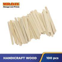 DIY Craft Ice Cream Wooden Sticks (100 pcs)