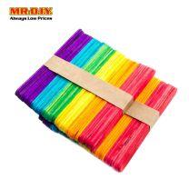 DIY Rainbow Crafting Sticks