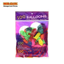 Colorful Balloon (100 pcs)