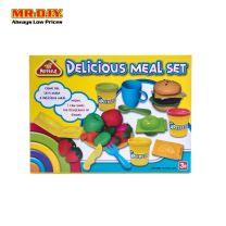 PEIPEILE Delicious Meal Set Colour Dough