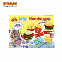 PEIPEILE Mini Burger Play Dough Set