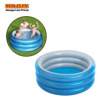 BESTWAY Metallic 3-Ring Inflatable Pool (1.5m x 53cm)