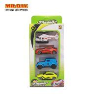 PONG RONG Mini Car Toy Set (4 pcs)