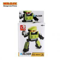 SLUBAN Green Colour Robot Blocks Toy Model