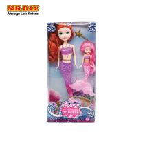 BEAUTY 2 In 1 The Mermaid Princess Doll Toys