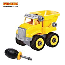 LEBX Dump Truck Assembled Toys