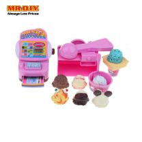 KAIDILONG Mini Cashier Ice Cream Shop Playset Toys