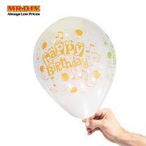 MR.DIY Latex Round Balloons Happy Birthday (12' x 4pcs)