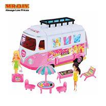 MR.DIY Food Truck Playset Toys-Beauty Series