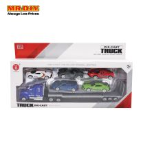 ZHONGQUN Die Case Truck and Car Play Set 1:58