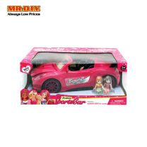 Fashion Beauty Sportscar With Doll For Kids 7896