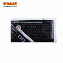 WEIBO FC-780 Superthin Multimedia Keyboard