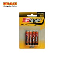 PLAYER Extra Heavy Duty AAA Battery (4pcs)