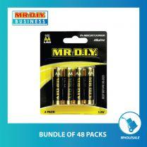 MR.DIY Alkaline AA Battery (4pcs)