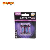 MR.DIY Alkaline Battery AAA (4pcs)