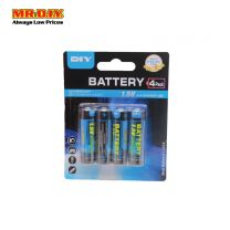 MR.DIY Super Extra  AA Battery (4pcs)