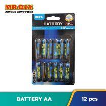 MR.DIY Super Extra Battery AA (12pcs)