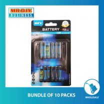 MR.DIY Super Extra Battery AAA (12pcs)