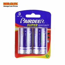 PAIRDEER Super Heavy Duty Carbon Battery D (2pcs)
