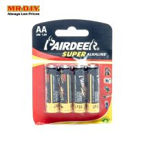 PAIRDEER Super Alkaline Battery AA (4pcs)