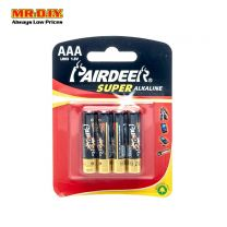 PAIRDEER Super Alkaline Battery AAA (4pcs)