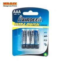 PAIRDEER Ultra Digital Alkaline Battery AAA (4pcs)