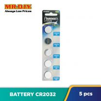 PAIRDEER Cell Lithium CR2032 Battery (5pcs)