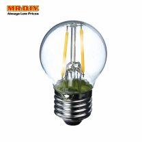MR.DIY FILAMENT Round Shape LED Bulb Warm White 2W
